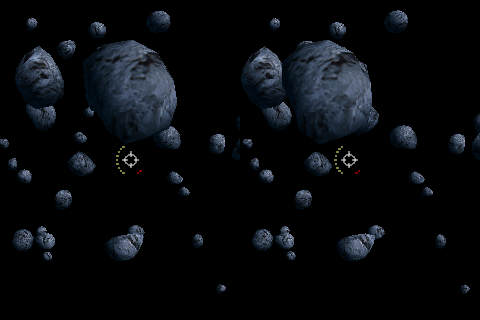 Screenshot A.D.S.I.S. Asteroid Defence Stereographic Interactive Simulation