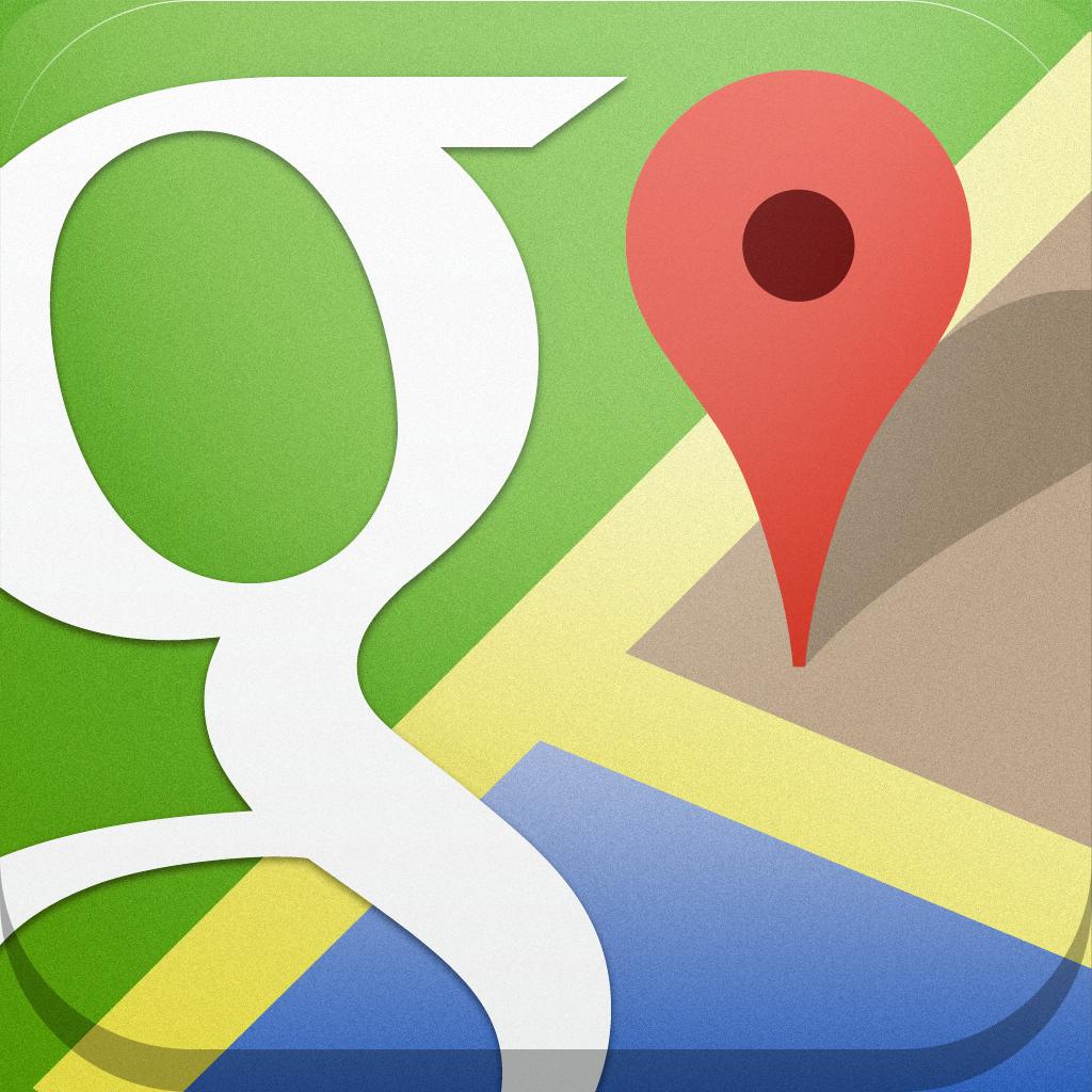 自転車の 自転車 ルート 無料 : Google Maps Icon